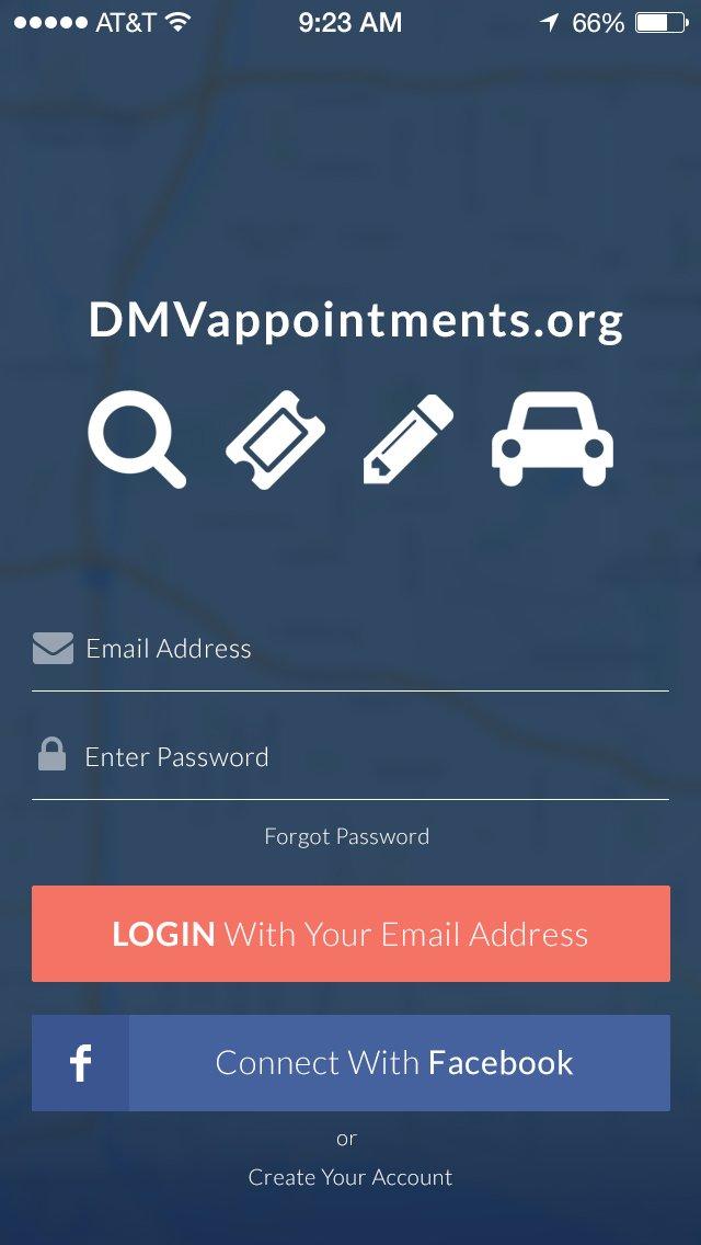 DMV Login