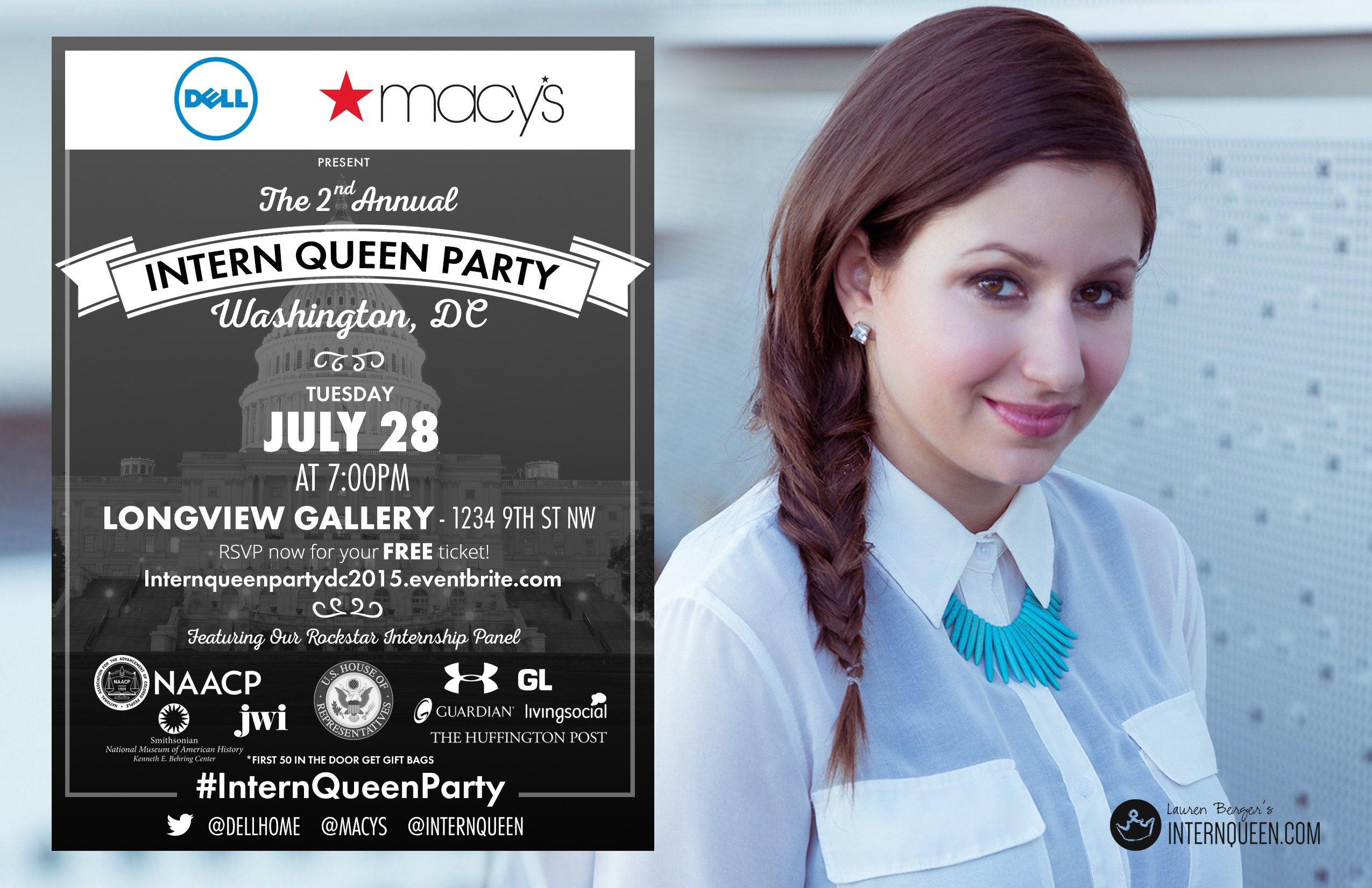 Intern Queen Party DC 2015
